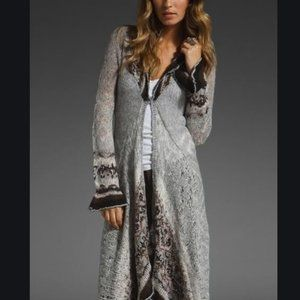 Free People Cascata Delle maxi cardigan duster
